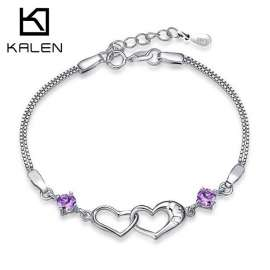 Sterling Silver Bracelets & Bangles For Women Natural Jewelry New